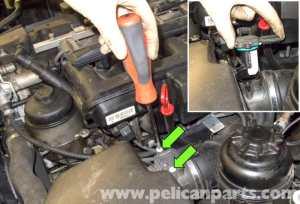 BMW E60 5Series Mass Air Flow Sensor Replacement (20032010)  Pelican Parts Technical Article