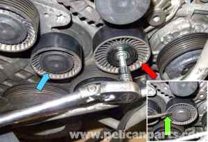 BMW E60 5Series Drive Belt, Tensioner, Idler Replacement (N54 Engine)  Pelican Parts Technical