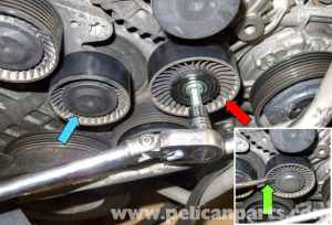 BMW E60 5Series Drive Belt, Tensioner, Idler Replacement