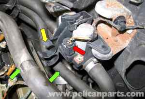 BMW X5 Heater Valve Testing and Replacement (E53 2000  2006)   Pelican Parts DIY Maintenance