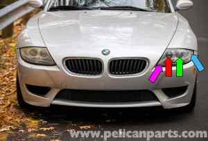 BMW Z4M Front Exterior Light Bulbs Replacement | 20032006 | Pelican Parts DIY Maintenance Article