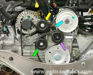 Porsche Boxster Idler Belt Pulley Replacement  986  987