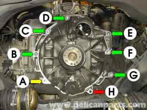 Porsche Boxster Transmission Removal  986  987 (199708