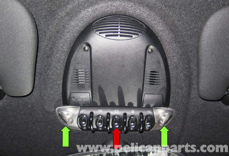 MINI Cooper R56 Roof Switch Replacement 2007 2011
