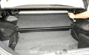 MercedesBenz SLK 230 Trunk Panel Removal   19982004   Pelican Parts DIY Maintenance Article