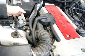 MercedesBenz SLK 230 Cooling Hose Replacement | 19982004 | Pelican Parts DIY Maintenance Article