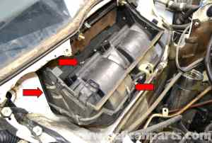 MercedesBenz W124 Blower Motor Replacement | 19861995 E