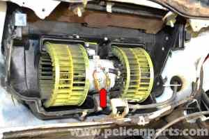 MercedesBenz W124 HVAC Resistor Replacement   19861995 EClass   Pelican Parts DIY Maintenance