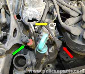 MercedesBenz W126 Thermostat Replacement | 19811991 SClass | Pelican Parts DIY Maintenance