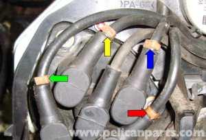 MercedesBenz R129 Distributor Cap, Rotor and Wire Change  SL500, 500SL (1990  2002)  Pelican