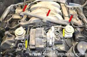 MercedesBenz W203 Air Pump Check Valve Replacement  (20012007) C230, C280, C350, C240, C320