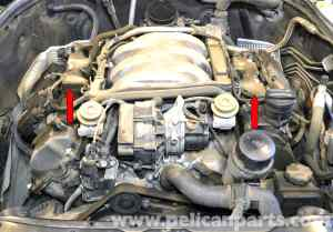 MercedesBenz W203 Valve Cover Gasket Replacement  (2001