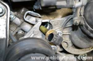 MercedesBenz W203 Coolant Temperature Sensor Replacement