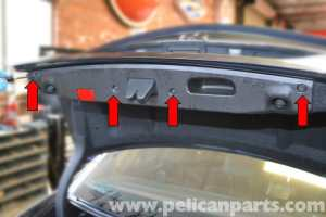 MercedesBenz W204 Trunk Lock and Latch Replacement  (20082014) C250, C300, C350 | Pelican