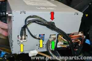 MercedesBenz W204 Stereo Removal  (20082014) C250, C300