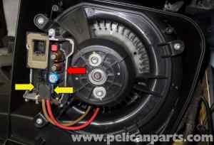 MercedesBenz W211 Blower Motor Testing (20032009) E320