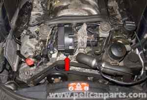 MercedesBenz W211 Coolant Temperature Sensor Replacement (20032009) E320   Pelican Parts DIY