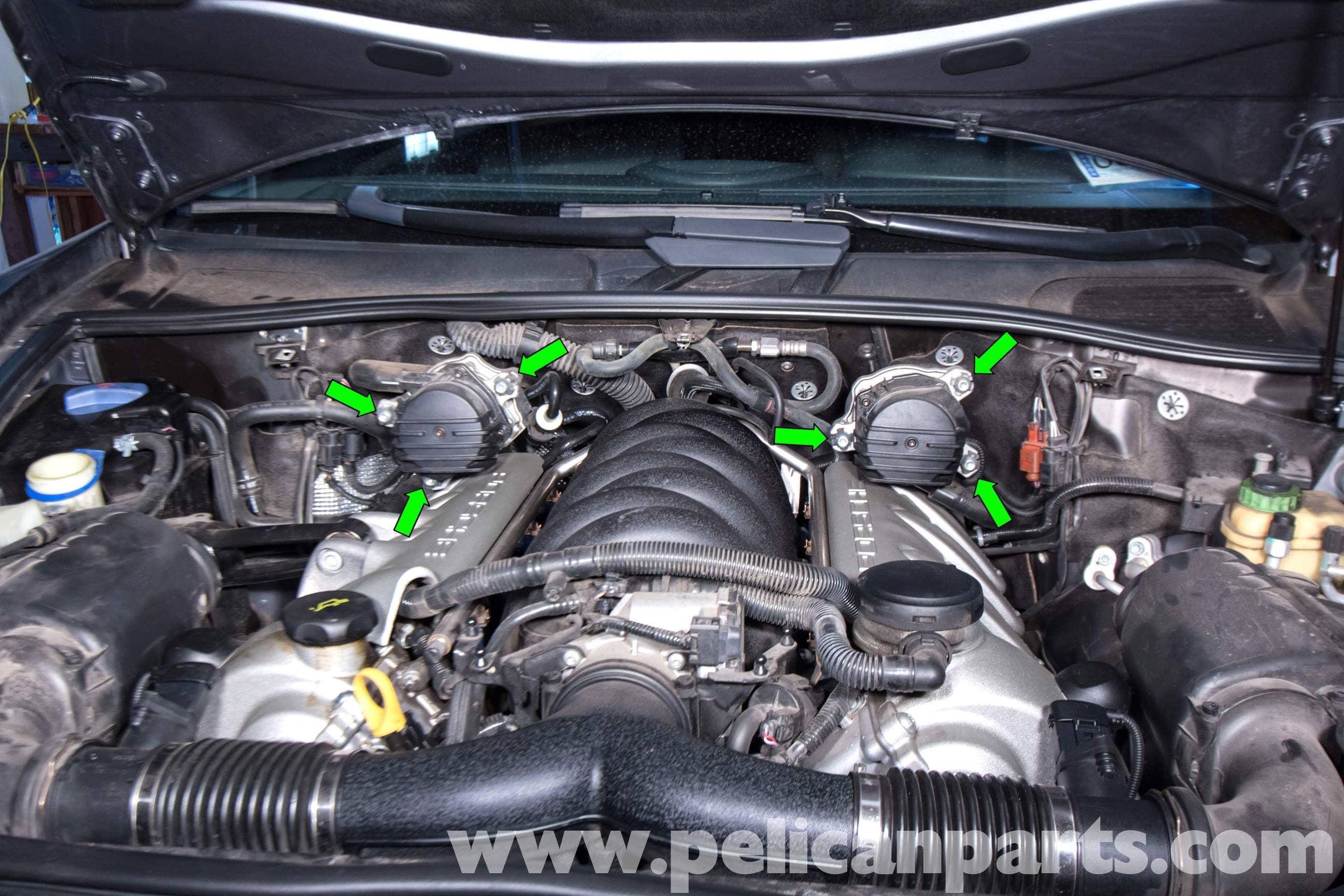 2004 Porsche Boxter S Part A Fuse Box Diagram