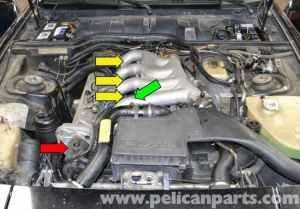 Porsche 944 Turbo Spark Plug Replacement (19861991