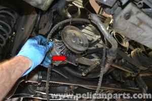 Porsche 944 Turbo Oil Pressure Sensor Replacement (1986