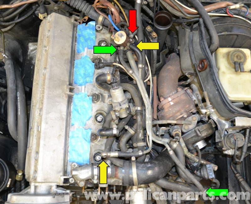 Porsche 944 Turbo Vacuum Lines 1986 1991 Pelican Parts