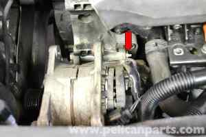 Volkswagen Golf GTI Mk IV Alternator Replacement (1999