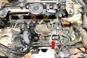 Volkswagen Golf GTI Mk V Oil Pressure Switch Replacement