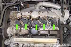 Volvo V70 Spark Plug Coil Replacement (19982007)  Pelican Parts DIY Maintenance Article