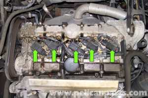 Volvo V70 Spark Plug Coil Replacement (19982007
