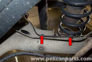 Volvo V70 ABS Wheel Speed Sensor Replacement (19982007