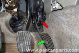 Volvo V70 Accelerator Pedal Sensor Replacement (19982007)  Pelican Parts DIY Maintenance Article