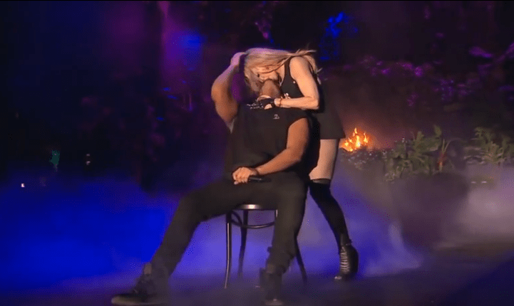 Drake Makes Out With Madonna During Coachella Set
