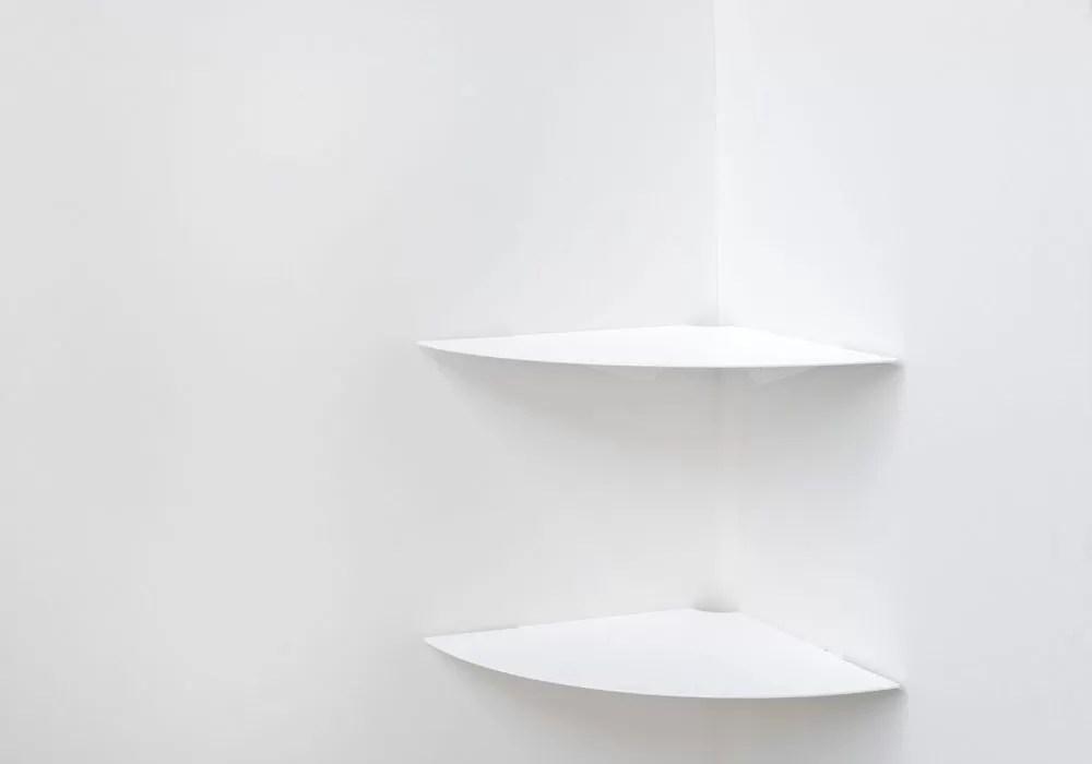 etagere d angle pour la cuisine teegolo 36 cm lot de 2
