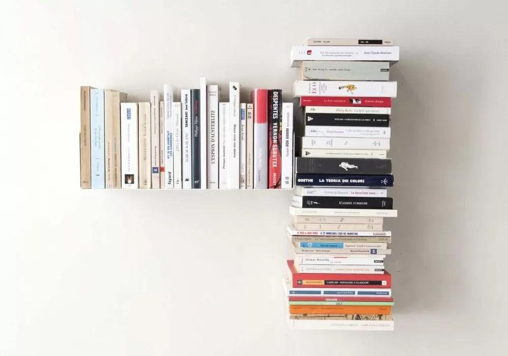acheter etagere pour livre bibliotheque murale gauche