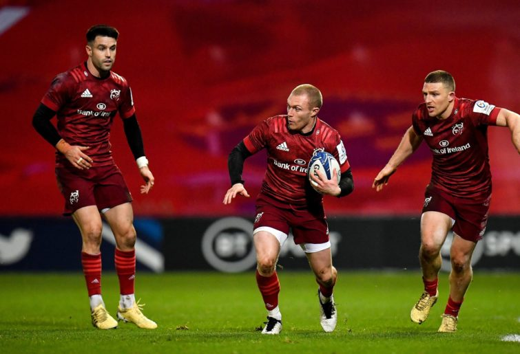 Munster rugby players