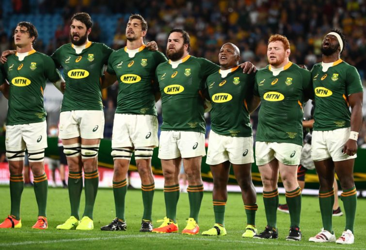 South Africa prepare to take on the Wallabies