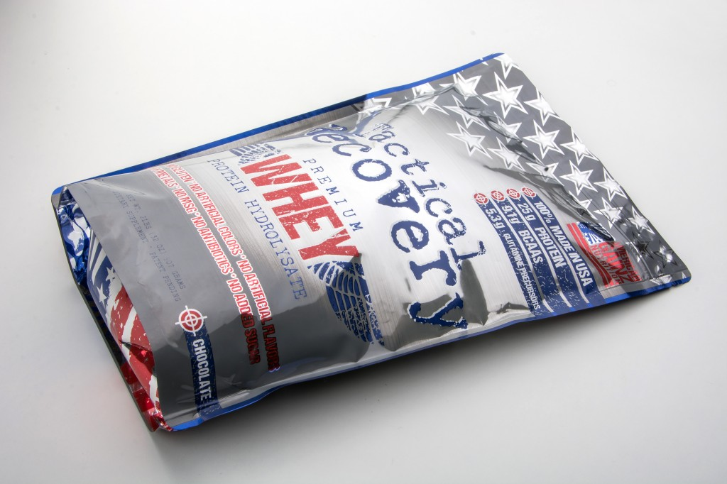 American Gainz nutrition tactical recovery protein