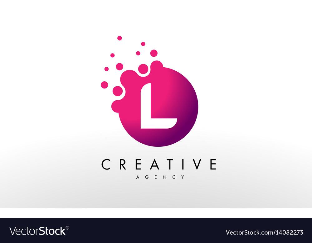 Letter L Logo L Letter Design Royalty Free Vector Image