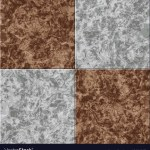 Abstract Gray Brown Marble Seamless Texture Tiled Vector Image
