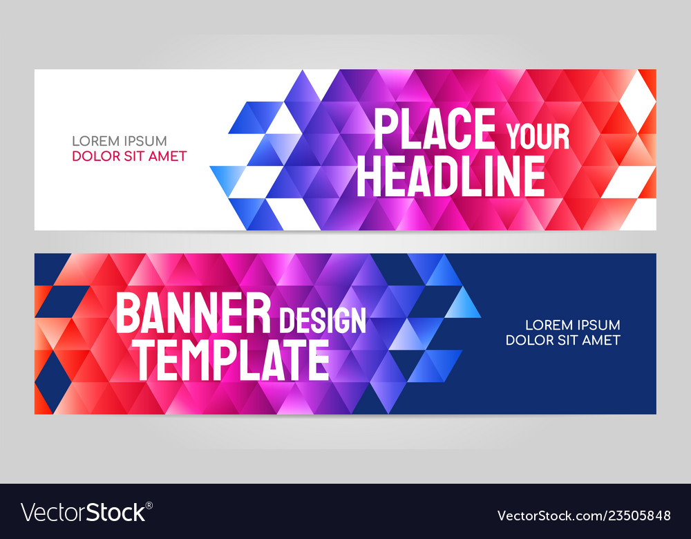 Layout Banner Template Design For Sport Event 2019