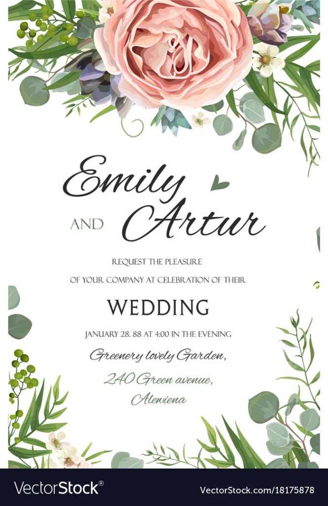 Wedding Invitation Invite Save The Date Fl