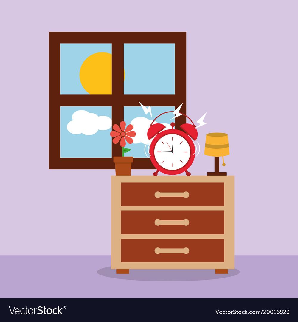 Wonderful Alarm Bedside - alarm-clock-on-bedside-table-alert-morning-window-vector-20016823  Collection_73814.jpg