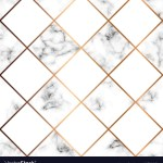 Marble Texture Seamless Pattern Design With White Vector Image