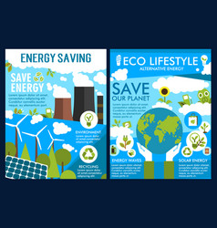 Save Energy Poster Vector Images Over 2 300