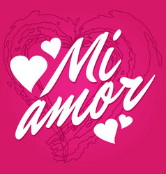 My Spanish Mi Vector Images 32