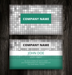 tile business card vector images over