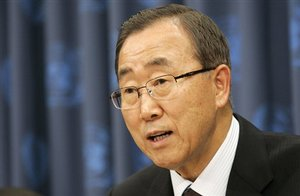 Ban Ki Moon, United Nations Secretary General