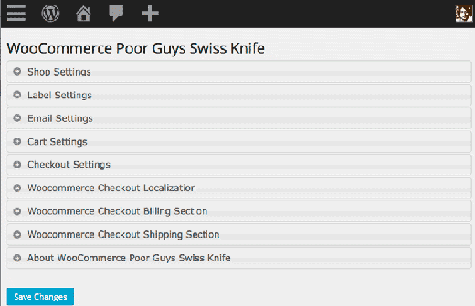WooCommerce Poor Guys Swiss Knife