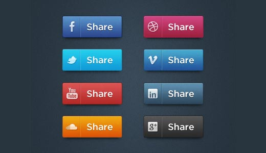Free Social Media Icon Set by Hugo