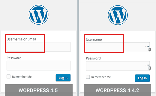 Login with email support in WordPress 4.5